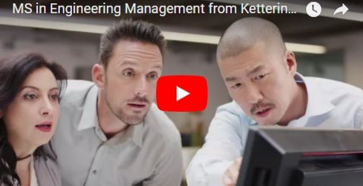 MS in Engineering Management from Kettering University video