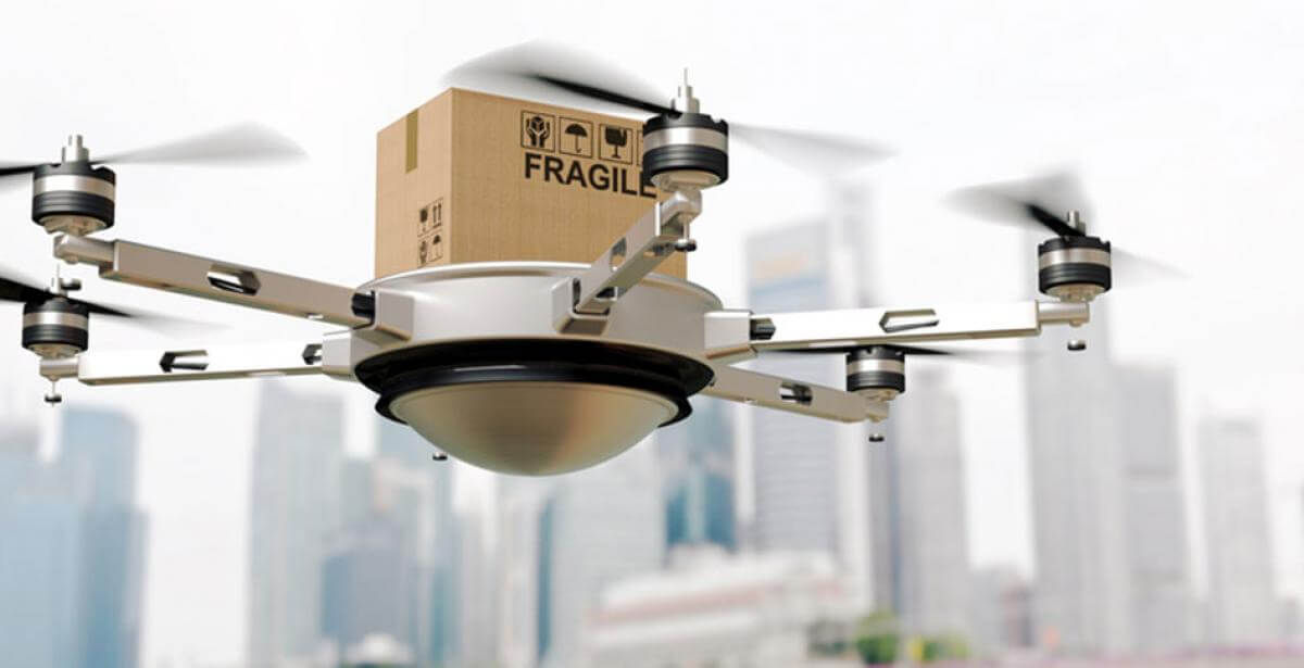 The future of delivery drones